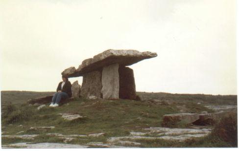 Tamaria @ Poulnabrone Dolmen 1989